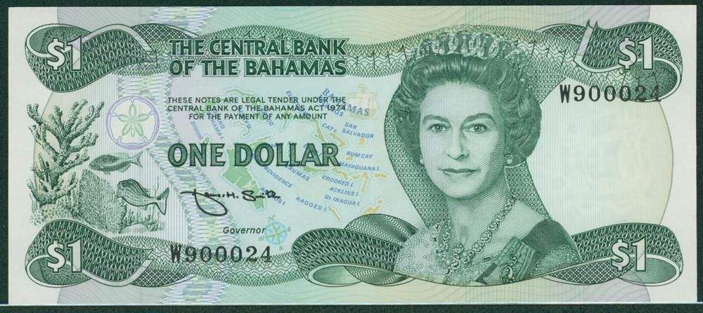 Bahamas 1974 $1