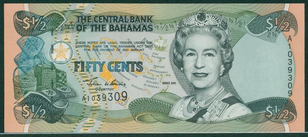Bahamas 2001 $1