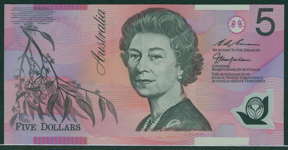 Australia 2002-03 $5