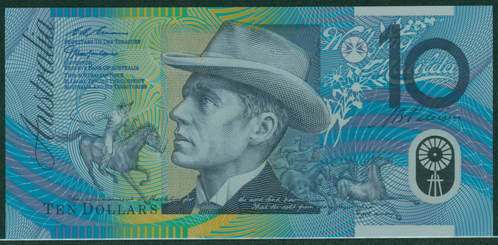 Australia 1996-98 $10 Paterson/Gilmore