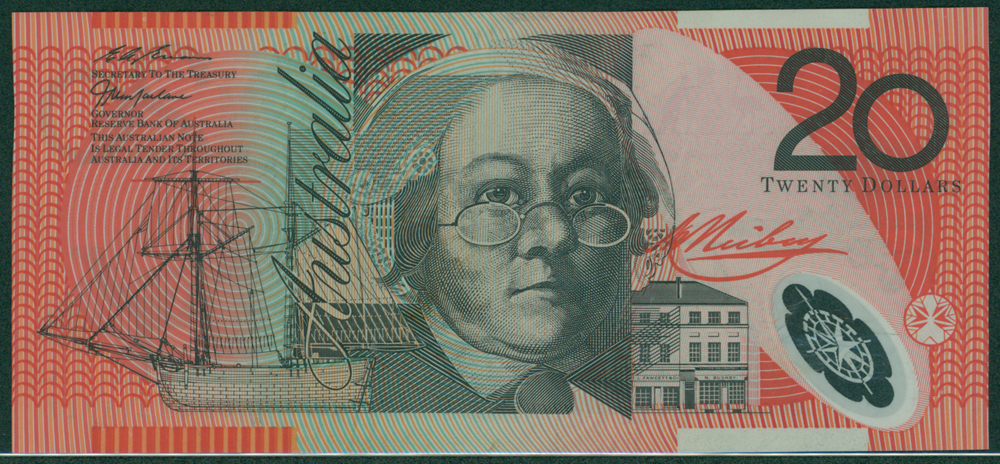 Australia 1997-98 $20 Reiby/Flynn