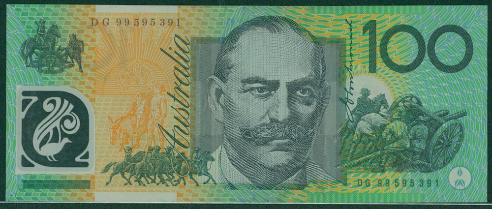 Australia 1998-2001 $100 Melba/Monash