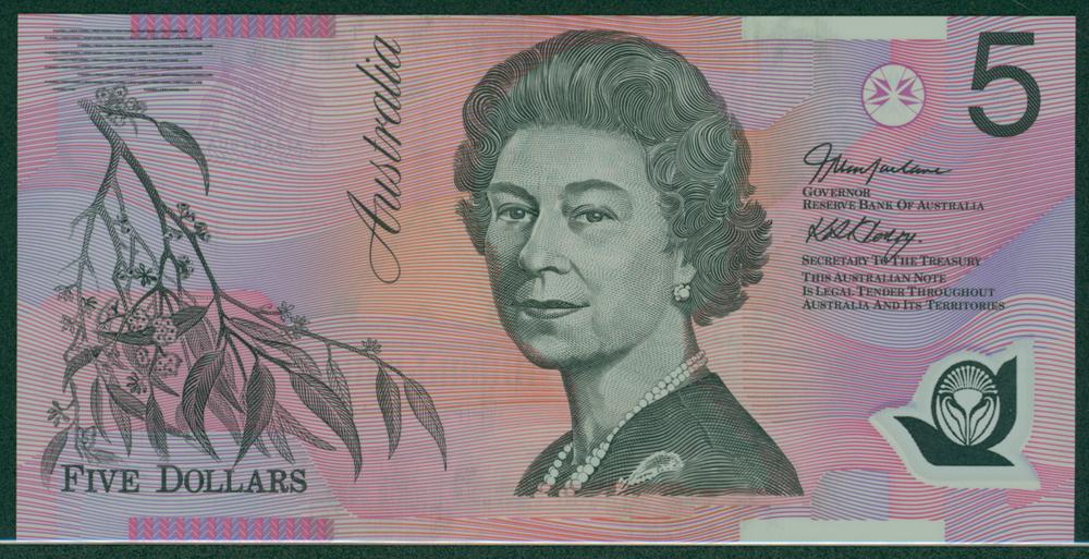 Australia 2002-06 $5