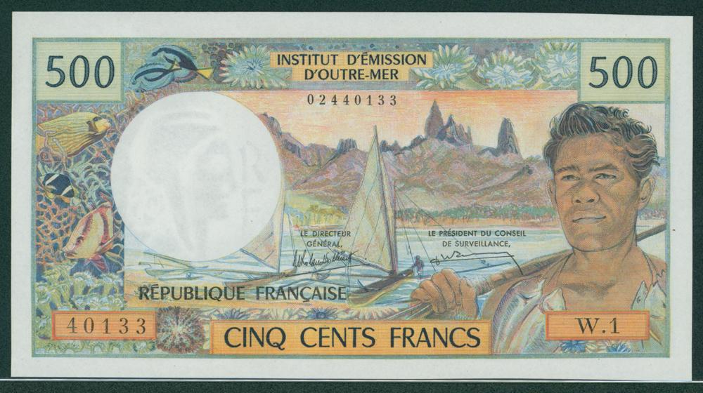 New Caledonia 1969-92 500 Francs