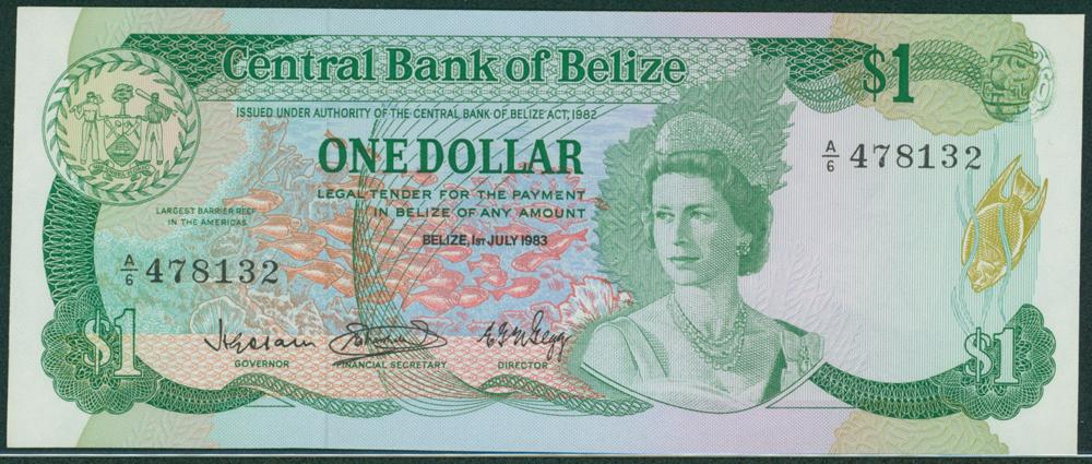 Belize 1983 $1