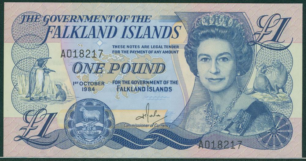 Falkland Islands 1984 £1