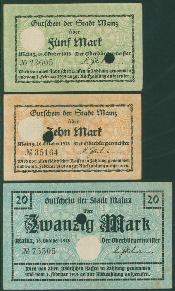 Germany - Notgeld 1918 Mainz