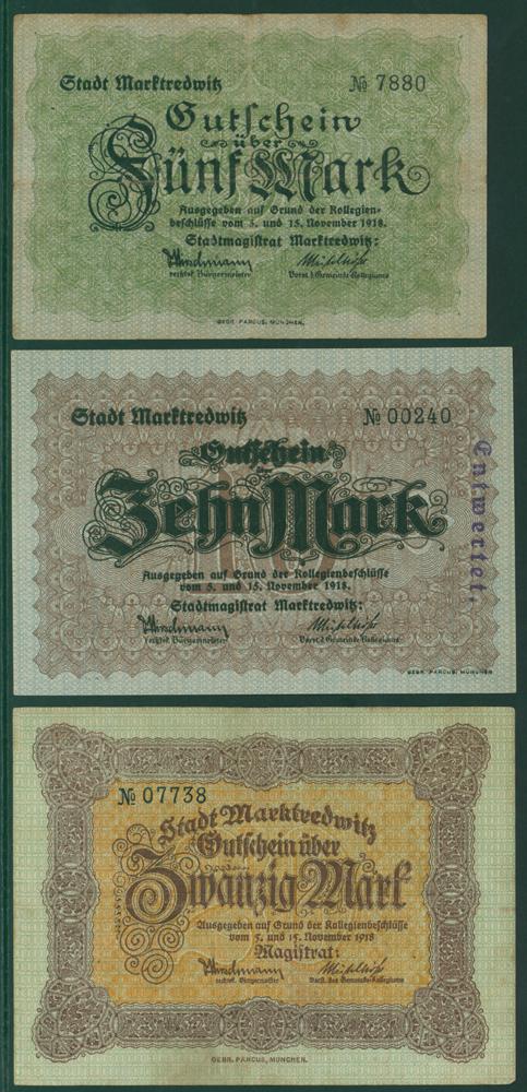 Germany - Notgeld 1918 Marktredwitz