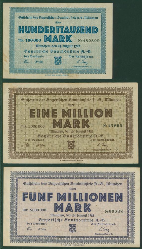 Germany - Notgeld 1923 Munchen (Munich)