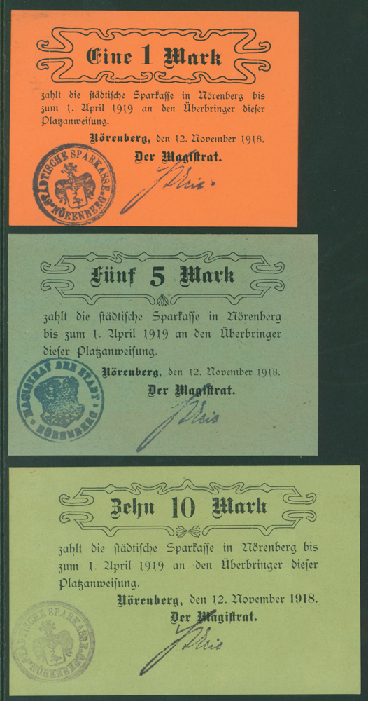 Germany - Notgeld 1918 Norenberg