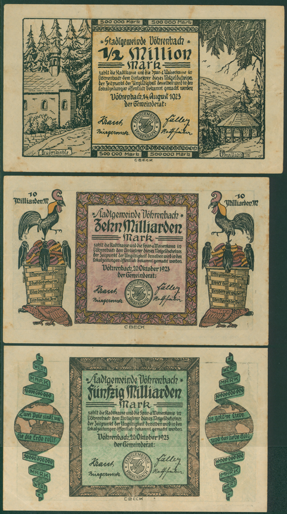 Germany - Notgeld 1923 Vorenbach