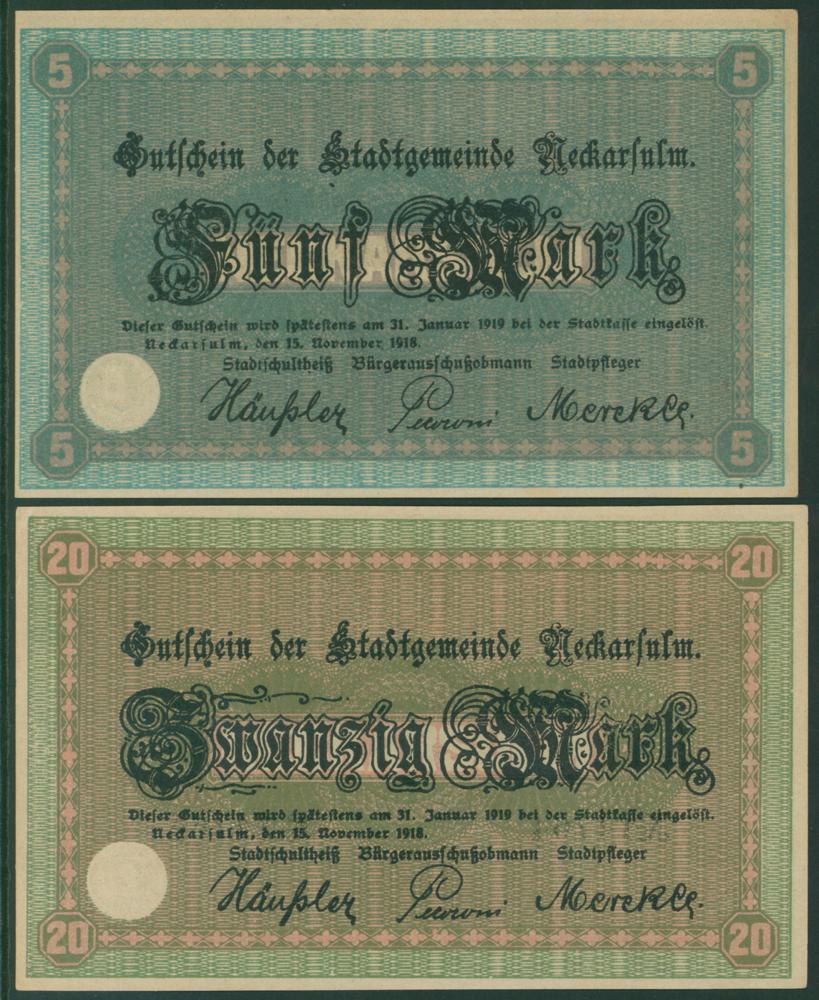 Germany - Notgeld 1918 Neckarsulm