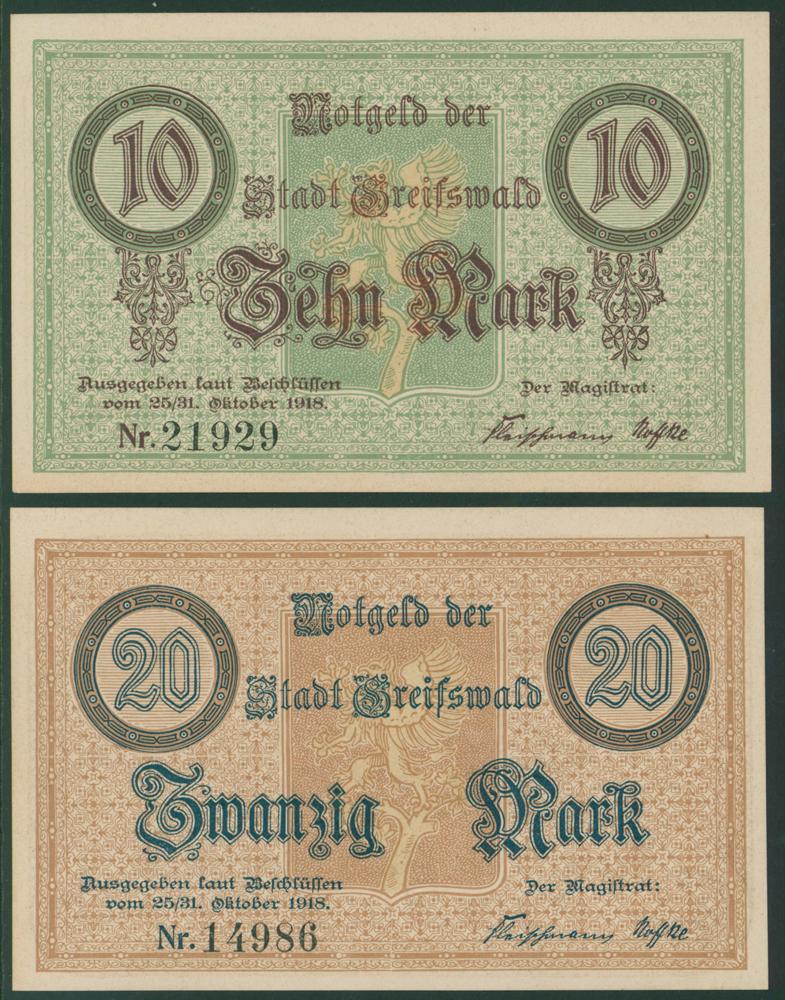 Germany - Notgeld 1918 Greifswald
