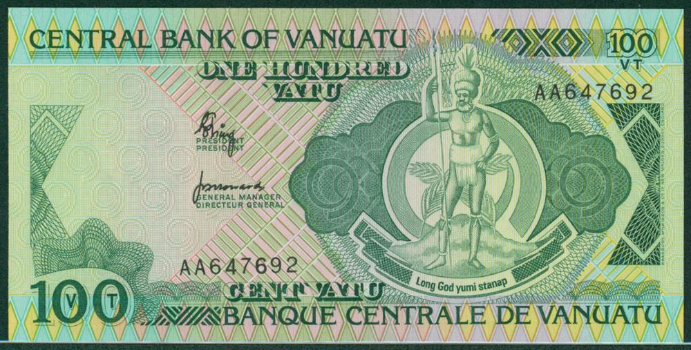 Vanuata 1982 100 Vatu
