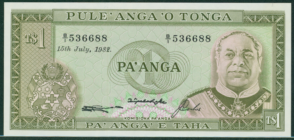 Tonga 1982 1 Pa'anga