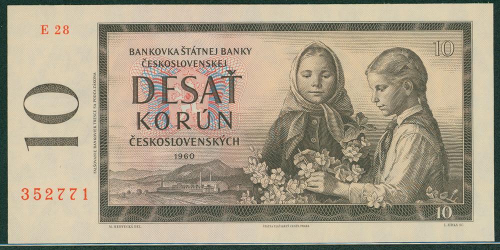 Czechoslovakia 1960 10 Korun