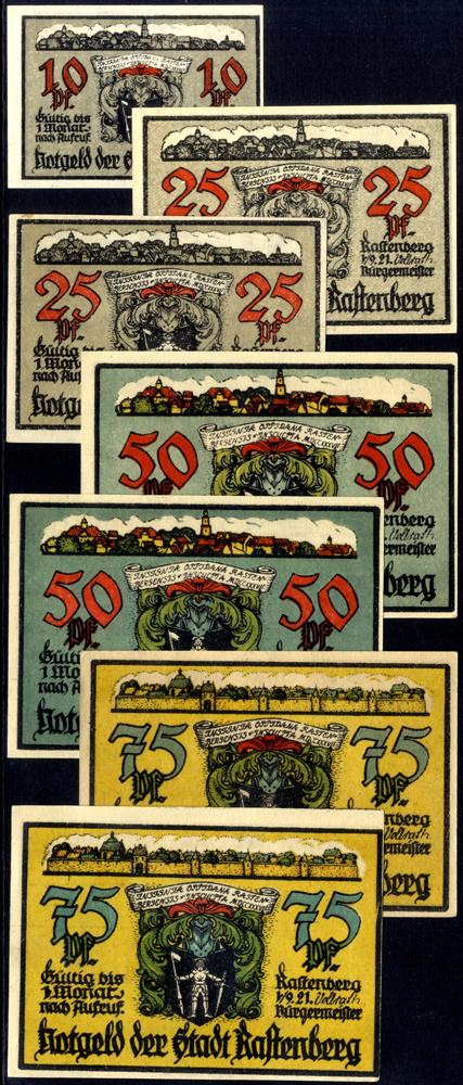 Germany - Notgeld 1921 Rastenberg