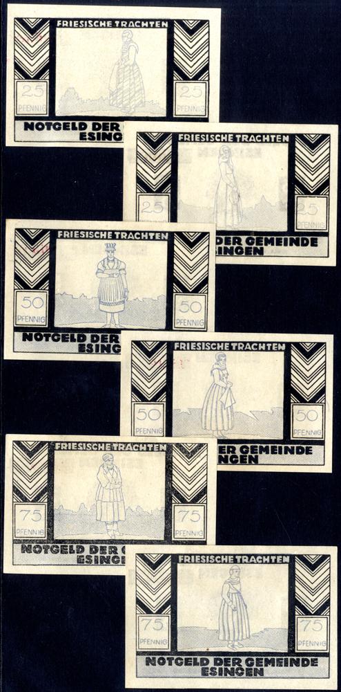 Germany - Notgeld 1921 Esingen