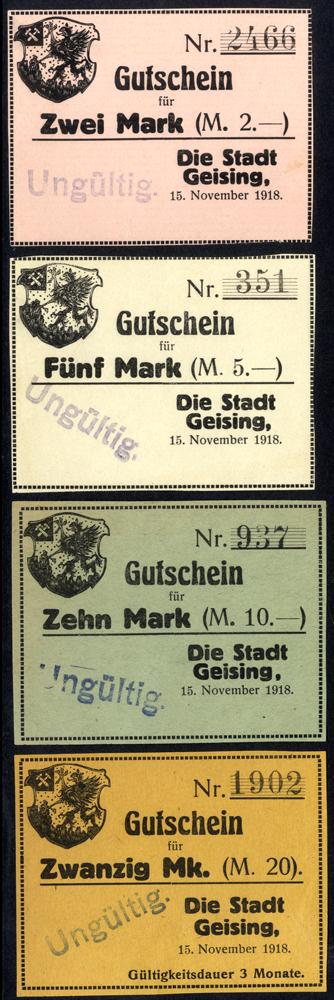 Germany - Notgeld 1918 Geising