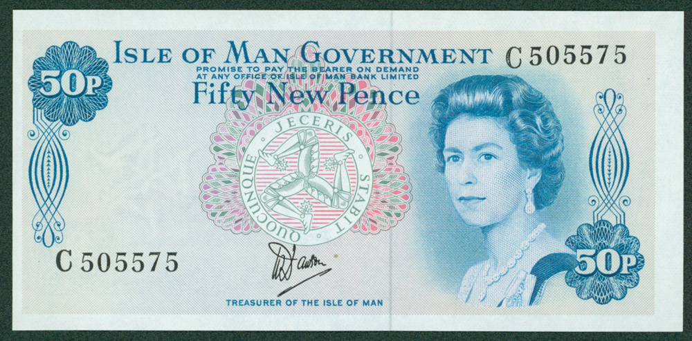 Isle of Man 1979 50 New Pence
