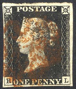 1840 1d black Plate 4 HL
