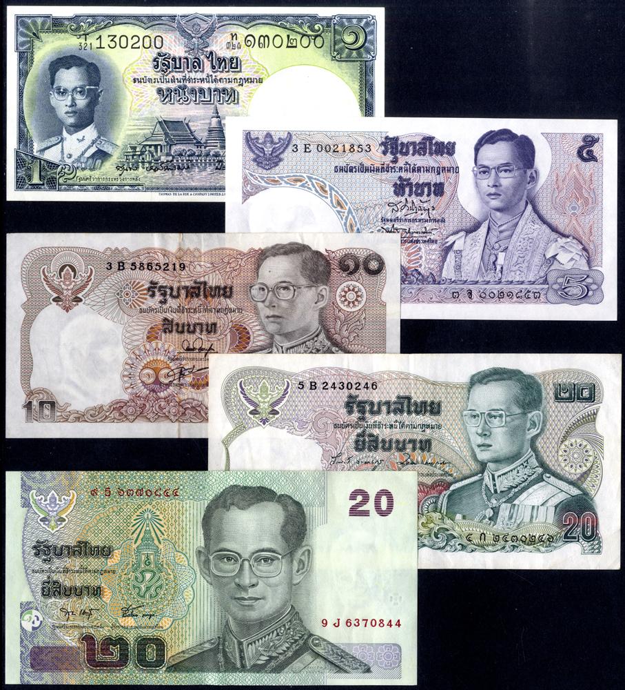 Thailand 5 different