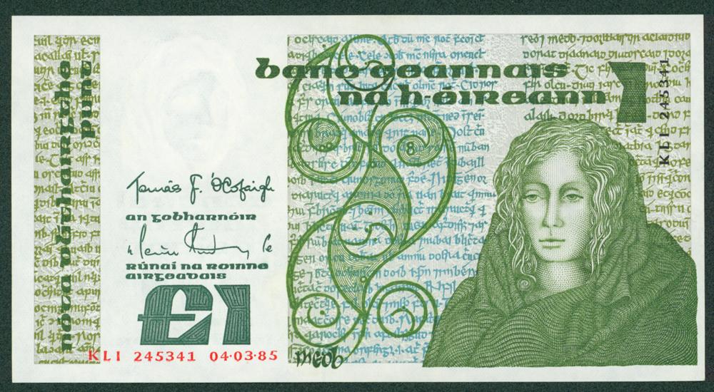 Ireland 1985 £1