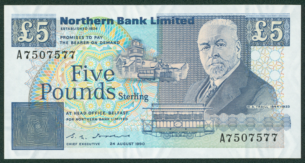 Northern Ireland 1990 £5