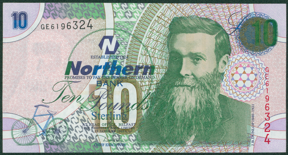 Northern Ireland 2005 £10