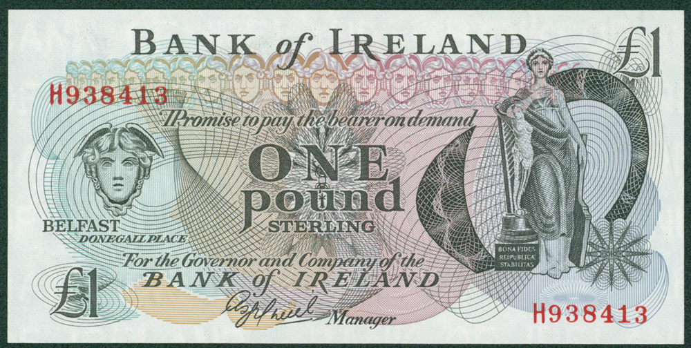 Northern Ireland Undated £1