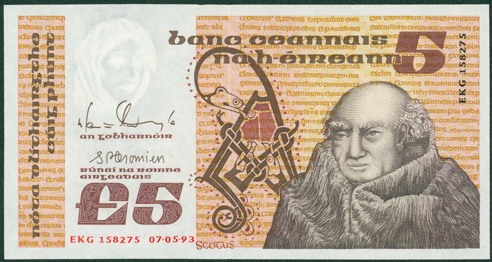 Ireland 1993 £5