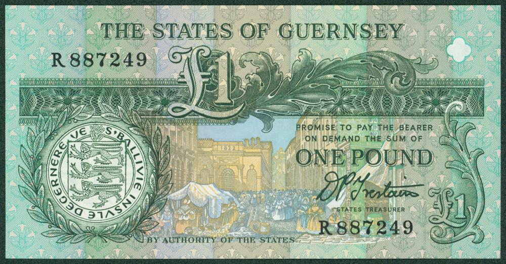 Guernsey 1991 £1