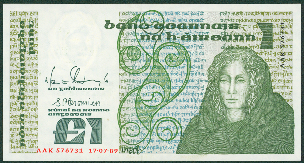 Northern Ireland 1989 £1