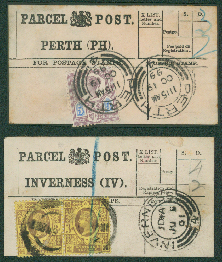 1899 PARCEL POST LABELS (2)
