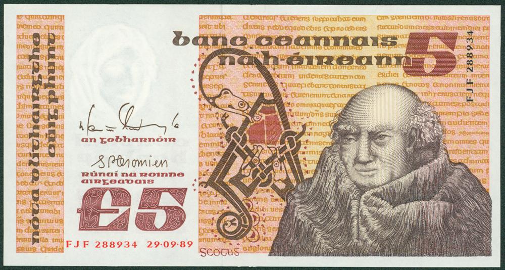 Ireland 1989 £5