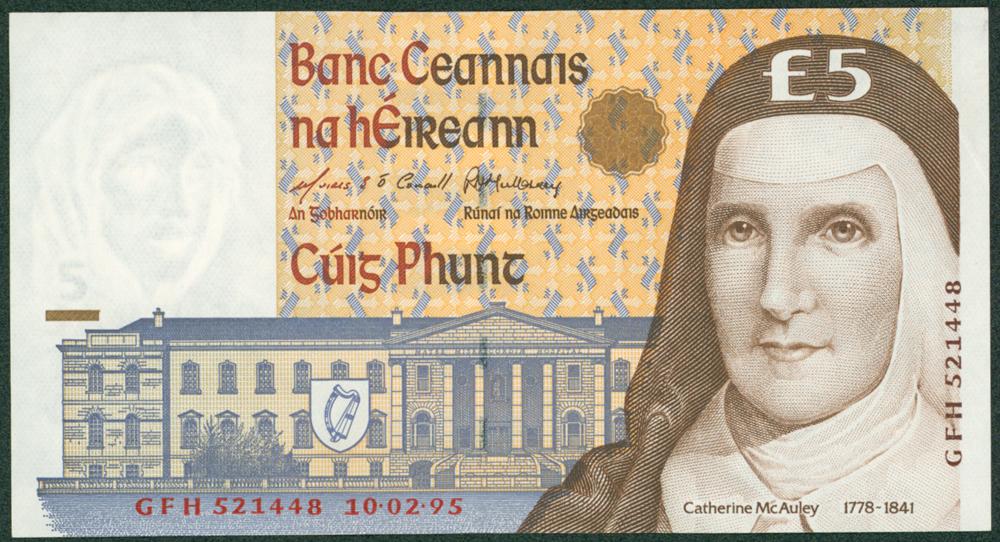 Ireland 1994-99 £5
