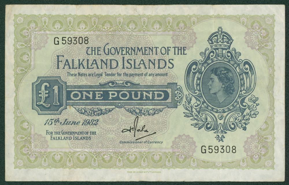 Falkland Islands 1982 (15th June) £1