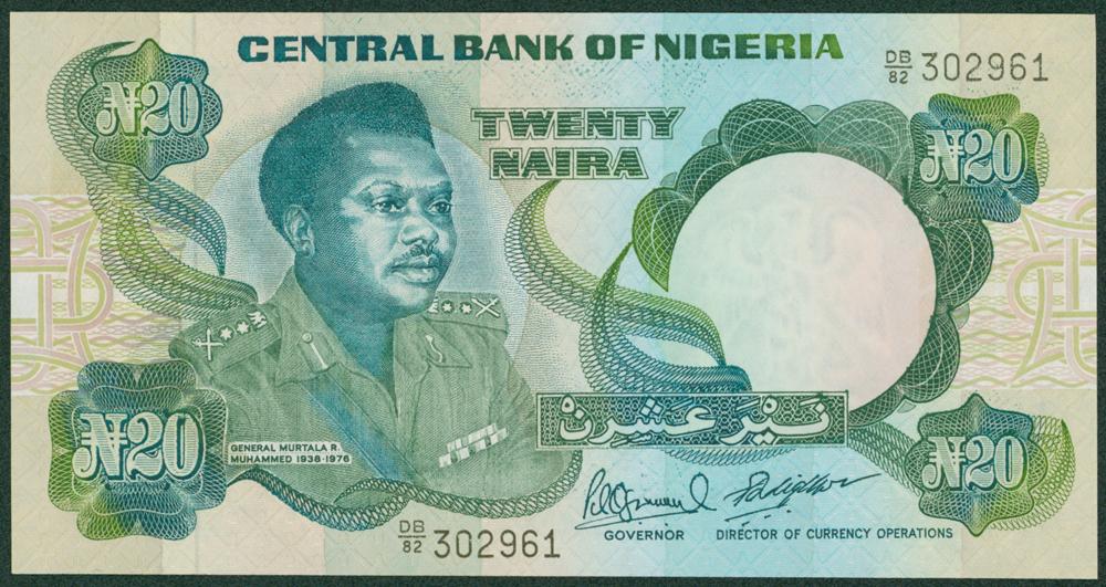 Nigeria 2001-05 20 Naira