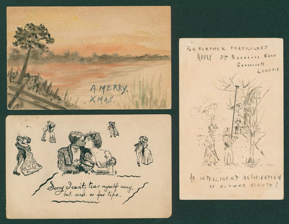 1902-05 Edwardian postcards (3)