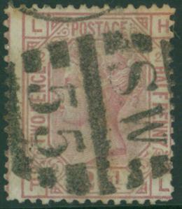 1875 2½d rosy mauve LH-FL