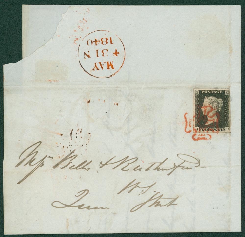 1840 May 31st SUNDAY date local Edinburgh entire