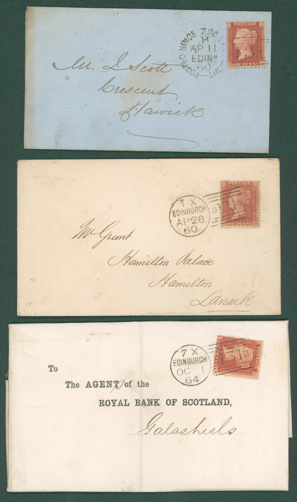 1859-60 1d stars on covers